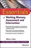 Essentials of Working Memory (Essentials of Psychological Assessment)