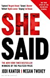 She Said: The New York Times bestseller from the journalists who broke the Harvey Weinstein story (English Edition)