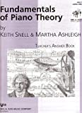 GP661 - Fundamentals of Piano Theory - Level 1 by Keith Snell (1998-01-31)