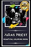 Judas Priest Beautiful Coloring Book: Stress Relieving Adult Coloring Book for All Ages