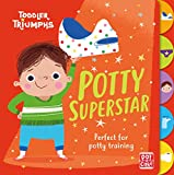 Potty Superstar: A potty training book for boys (Toddler Triumphs 2) (English Edition)