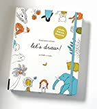 Illustration School. Let's Draw: A Kit with Guided Book and Sketch Pad for Drawing Happy People, Cute Animals, and Plants and Small Creatures