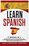 Learn Spanish: 5 Books In 1: This Book Includes 1000+ Spanish Phrases, 1000+ Words In Context, 100+ Easy Conversations, Short Stories For Beginners Vol. 1-2 (6)