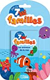 Jeux 7 familles animaux mer