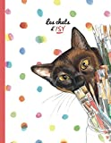 Cahier Rouge - Les Chats d'Isy (Cahier chat d'Isy)