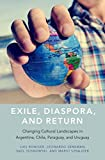 Exile, Diaspora, and Return: Changing Cultural Landscapes in Argentina, Chile, Paraguay, and Uruguay (English Edition)