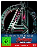 Marvel's The Avengers - Age of Ultron - Steelbook  (+ Blu-ray 2D) [Blu-ray]