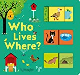 Who Lives Where?: A Slide-And-Learn Book: 2
