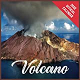Calendar 2022 Volcano: Volcano Official 2022 Monthly Planner, Square Calendar with 19 Exclusive Volcano Photoshoots from July 2021 to December 2022