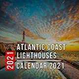 Atlantic Coast Lighthouses Calendar 2021: 12 Month Mini Calendar from Jan 2021 to Dec 2021, Cute Gift Idea | Pictures in Every Month