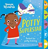Potty Superstar: A potty training book for girls (Toddler Triumphs 3) (English Edition)