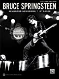 Bruce Springsteen -- Keyboard Songbook 1973-1980: Piano/Vocal/Guitar