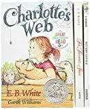 E B WHITE BOX SET: Charlotte's Web, Stuart Little, the Trumpet of the Swan