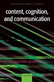 Content, Cognition, and Communication: Philosophical Papers II (English Edition)