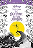 Art Of Coloring: Tim Burton's The Nightmare Before Christmas: 100 Images to Inspire Creativity (Art of Colouring)