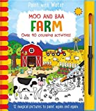 Moo and Baa: Farm (Paint With Water)