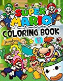 Super Mario Coloring Book: Great Super Mario Bros Coloring Book With Fantastic Images For Kids Ages 4-8