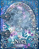 Nora: Nora Name Notebook, Blue and Purple Girls Journal, Nora Personalized Gift, Wide Ruled for School, Diary, Creative Writing, Notes