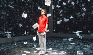 A stage adaptation of The Curious Incident of the Dog in the Night-Time.