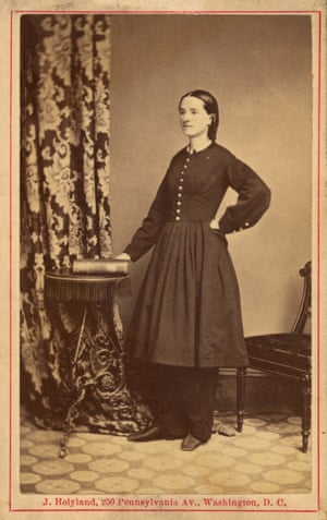 Mary Edwards Walker, cirujana estadounidense de la Guerra Civil