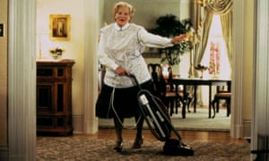 Robin Williams como la Sra. Doubtfire