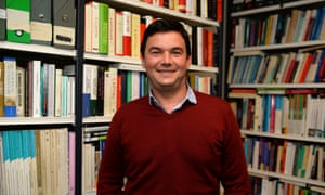 Thomas Piketty en su oficina