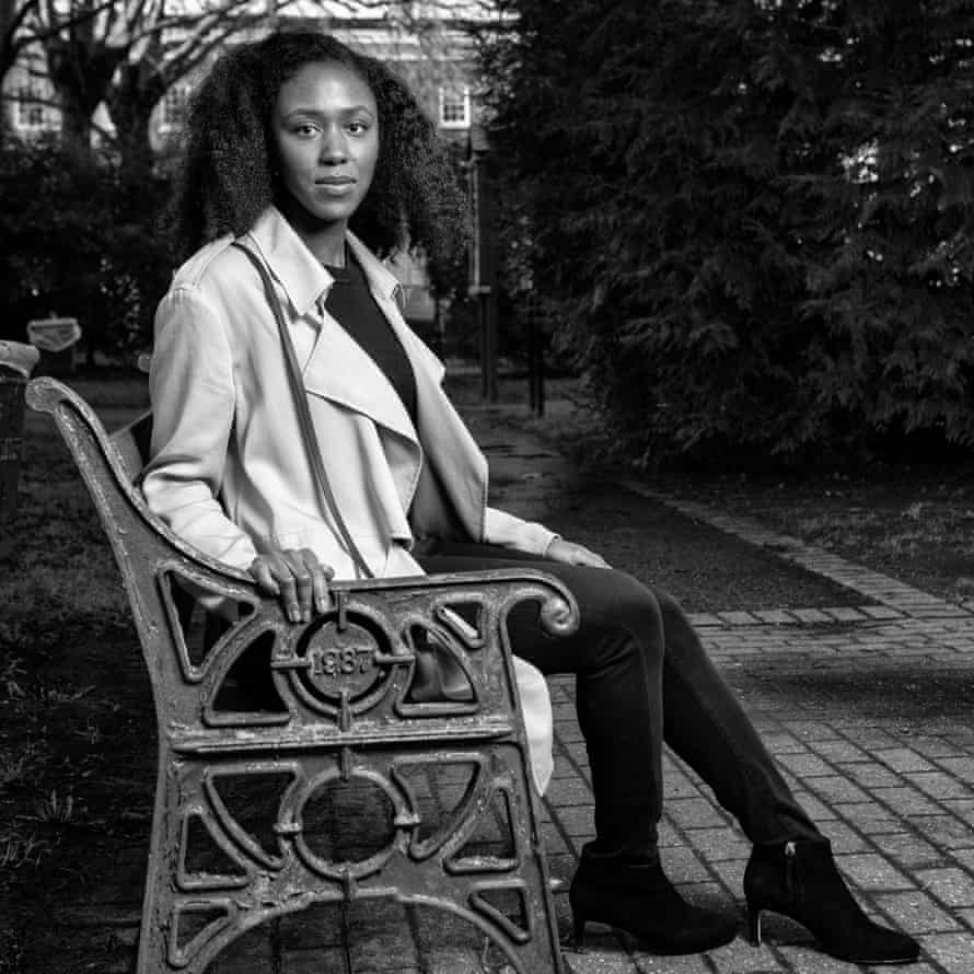 Natasha Brown photographed in Mile End, East London.